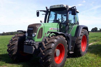 Rijden op een tractor