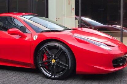 Rijden in een Ferrari 458 Italia