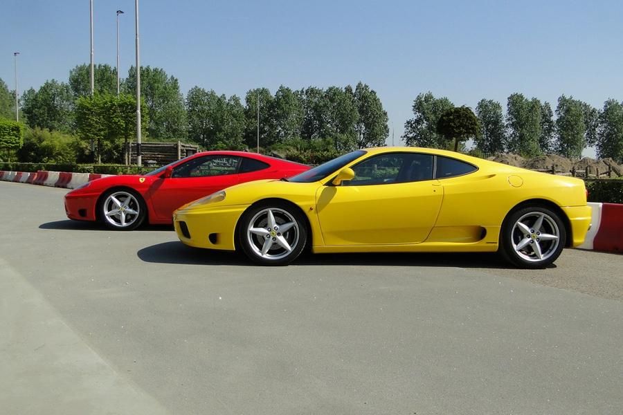 Rijden In Een Ferrari Modena 360