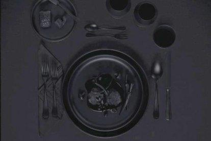 Dineren in het donker