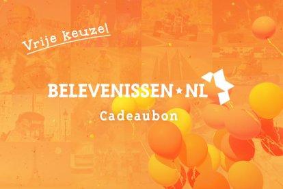 Met deze cadeaubon kan de gelukkige ontvanger ZELF een keuze maken uit het totale aanbod op Belevenissen.nl. De waarde van deze cadeaubon wordt verrekend met de waarde van de gekozen belevenis.