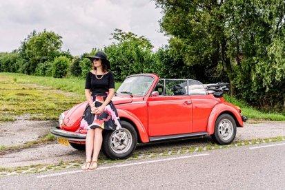 Een dag toeren in een VW Kever Cabrio
