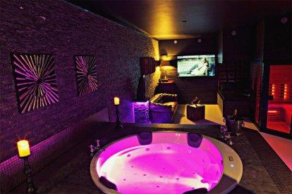 Luxe privé spa arrangement