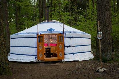 Korting Unieke overnachting in een Mongoolse Yurt